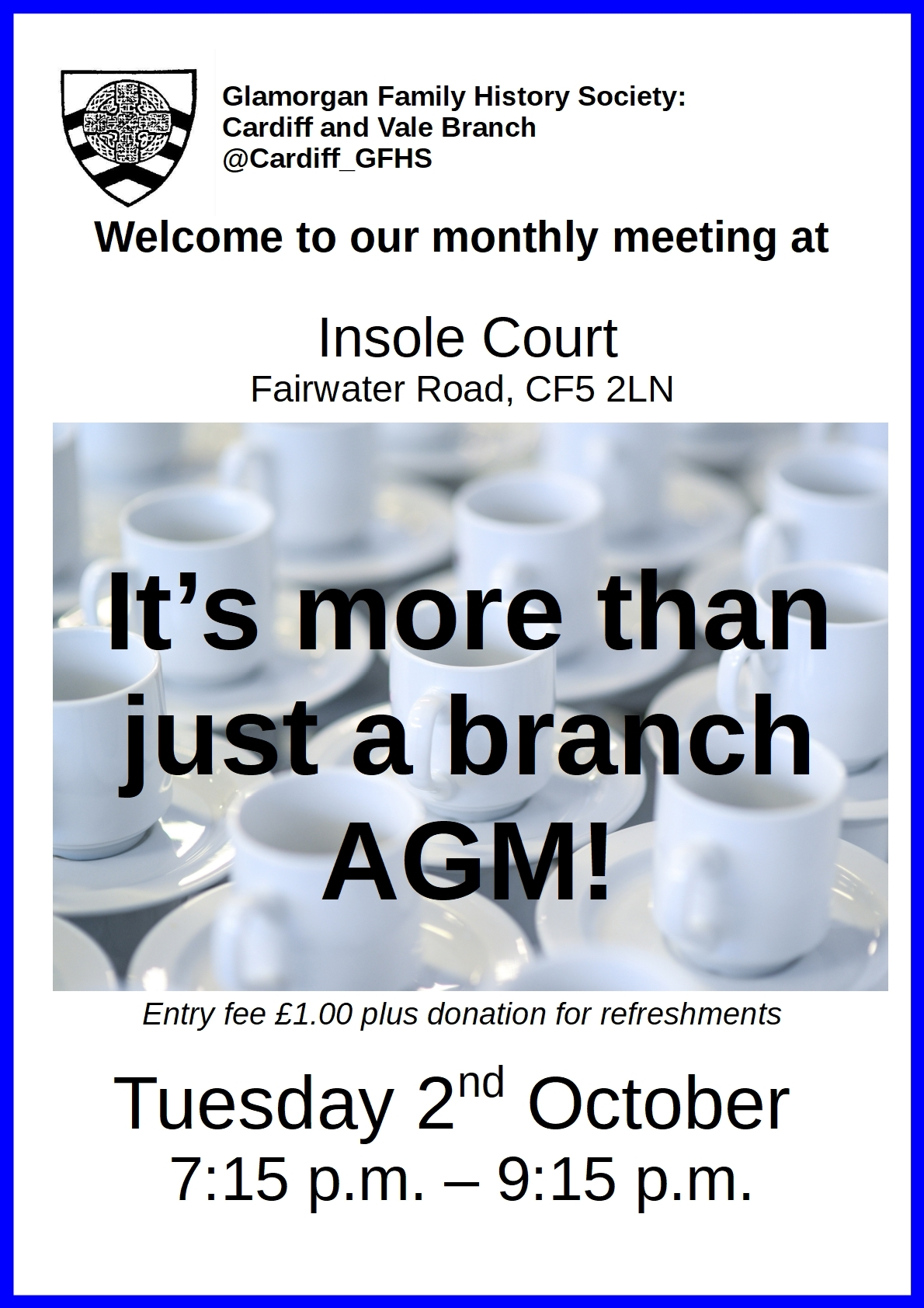 CardiffOctober branch meeting 2
